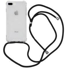 iMoshion Coque avec cordon iPhone 8 Plus / 7 Plus - Noir