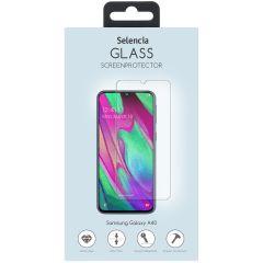 Selencia Protection d'écran en verre durci Samsung Galaxy A40