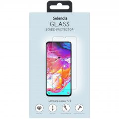 Selencia Protection d'écran en verre durci Samsung Galaxy A70