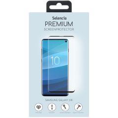 Selencia Protection d'écran premium en verre durci Galaxy S10