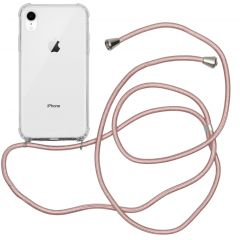 iMoshion Coque avec cordon iPhone Xr - Rose Champagne