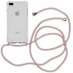 iMoshion Coque avec cordon iPhone 8 Plus / 7 Plus - Rose Champagne