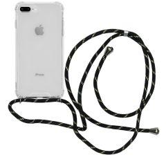 iMoshion Coque avec cordon iPhone 8 Plus / 7 Plus - Noir Dorée