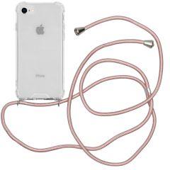 iMoshion Coque avec cordon iPhone SE (2020) / 8 / 7 - Rose Champagne