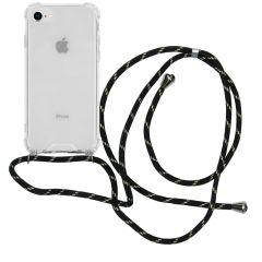 iMoshion Coque avec cordon iPhone SE (2020) / 8 / 7 - Noir Dorée