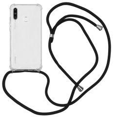 iMoshion Coque avec cordon Huawei P30 Lite - Noir