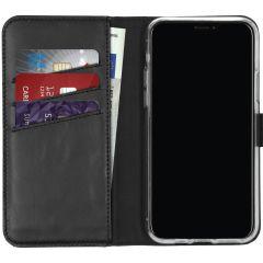 Selencia Étui de téléphone en cuir véritable iPhone 11 Pro