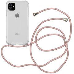 iMoshion Coque avec cordon iPhone 11 - Rose Champagne