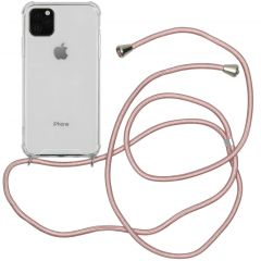 iMoshion Coque avec cordon iPhone 11 Pro Max - Rose Champagne