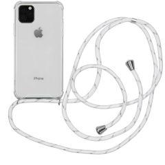 iMoshion Coque avec cordon iPhone 11 Pro Max - Blanc Argent