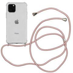 iMoshion Coque avec cordon iPhone 11 Pro - Rose Champagne