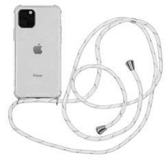 iMoshion Coque avec cordon iPhone 11 Pro - Blanc Argent