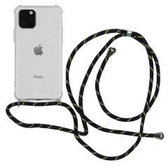 iMoshion Coque avec cordon iPhone 11 Pro - Noir Dorée