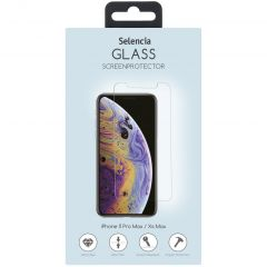 Selencia Protection d'écran en verre durci iPhone 11 Pro Max / Xs Max