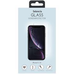 Selencia Protection d'écran en verre durci iPhone 12 (Pro) / 11 / Xr