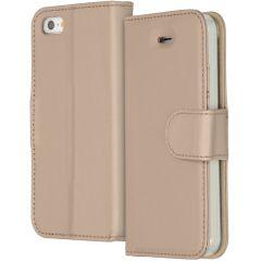 Accezz Étui de téléphone Wallet iPhone SE / 5 / 5s - Dorée