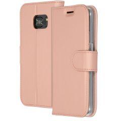 Accezz Étui de téléphone Wallet Samsung Galaxy S7 - Rose Champagne