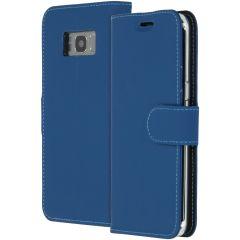 Accezz Étui de téléphone Wallet Samsung Galaxy S8 - Bleu