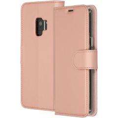 Accezz Étui de téléphone Wallet Samsung Galaxy S9 - Rose Champagne