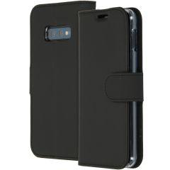 Accezz Étui de téléphone Wallet Samsung Galaxy S10e - Noir