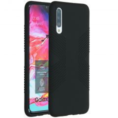 Accezz Coque Impact Grip Samsung Galaxy A70 - Noir