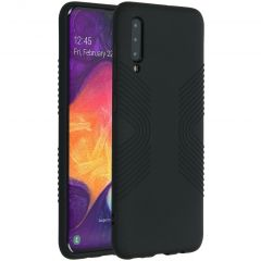 Accezz Coque Impact Grip Samsung Galaxy A50 / A30s - Noir