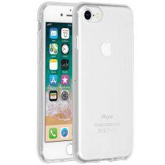 Accezz Coque Clear iPhone SE (2020) / 8 / 7 / 6(s) - Transparent