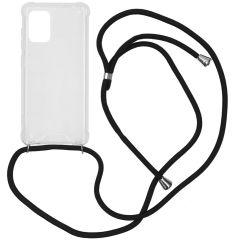 iMoshion Coque avec cordon Samsung Galaxy A71 - Noir
