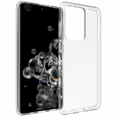 Accezz Coque Clear Samsung Galaxy S20 Ultra - Transparent