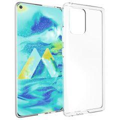 Accezz Coque Clear Samsung Galaxy S10 Lite - Transparent