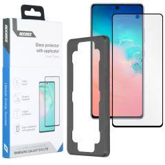 Accezz Protection d'écran Glass + Applicateur Galaxy S10 Lite