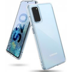 Ringke Coque Fusion Samsung Galaxy S20 - Transparent