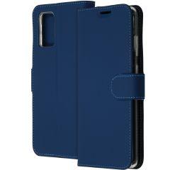 Accezz Étui de téléphone Wallet Samsung Galaxy S20 Plus - Bleu