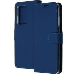 Accezz Étui de téléphone Wallet Samsung Galaxy S20 Ultra - Bleu