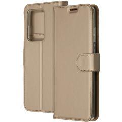 Accezz Étui de téléphone Wallet Samsung Galaxy S20 Ultra - Dorée