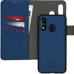 iMoshion Etui de téléphone 2-en-1 amovible Samsung Galaxy A40 - Bleu