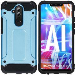 iMoshion Coque Rugged Xtreme Huawei Mate 20 Lite - Bleu clair