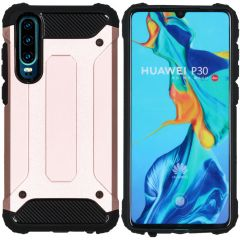 iMoshion Coque Rugged Xtreme Huawei P30 - Rose Champagne