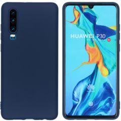 iMoshion Coque Color Huawei P30 - Bleu foncé