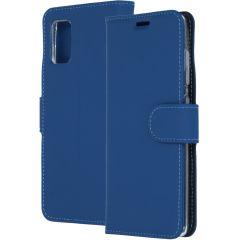 Accezz Étui de téléphone Wallet Samsung Galaxy A41 - Bleu