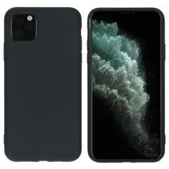 iMoshion Coque Color iPhone 11 Pro Max - Noir