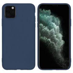 iMoshion Coque Color iPhone 11 Pro Max - Bleu foncé