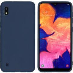 iMoshion Coque Color Samsung Galaxy A10 - Bleu foncé