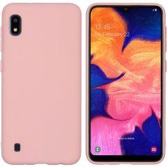 iMoshion Coque Color Samsung Galaxy A10 - Rose