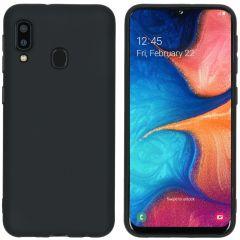 iMoshion Coque Color Samsung Galaxy A20e - Noir