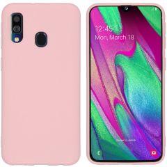 iMoshion Coque Color Samsung Galaxy A40 - Rose