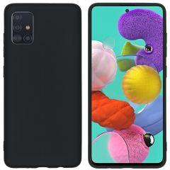 iMoshion Coque Color Samsung Galaxy A51 - Noir