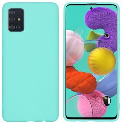 iMoshion Coque Color Samsung Galaxy A51 - Turquoise