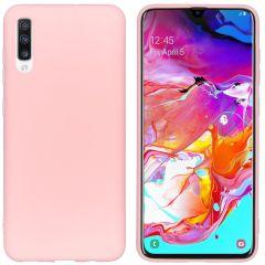 iMoshion Coque Color Samsung Galaxy A70 - Rose