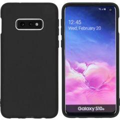 iMoshion Coque Color Samsung Galaxy S10e - Noir
